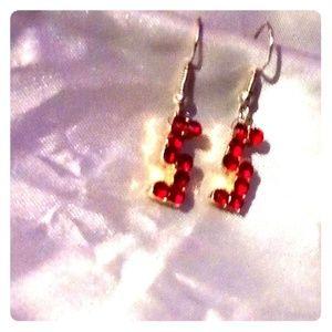 #5 Ruby earrings